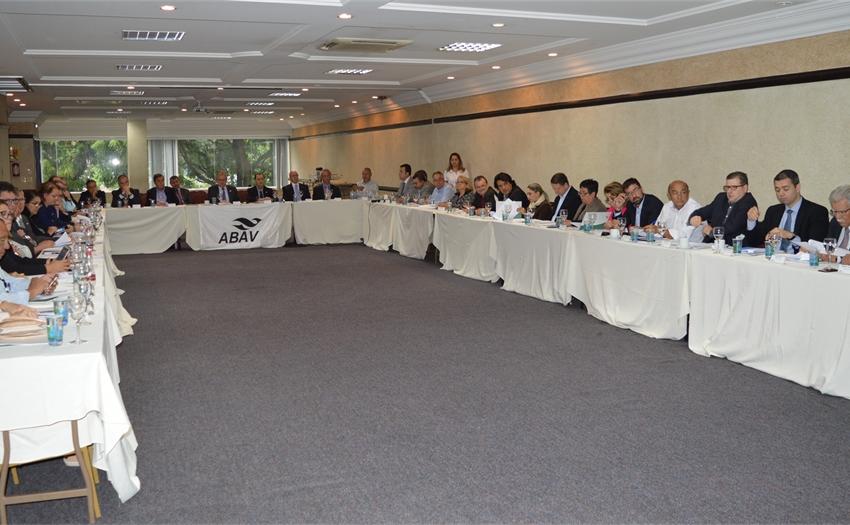 ABAV reúne presidentes e diretores em Curitiba durante o 23º Salão Paranaense de Turismo